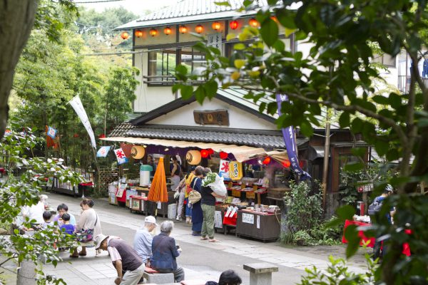 深大寺茶店